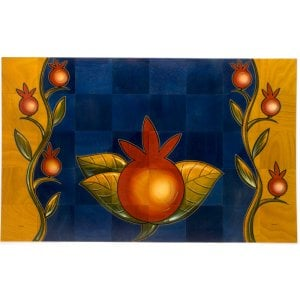 Floor Mat Pomegranate by Kakadu Art
