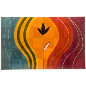 Floor Mat Sunset by Kakadu Art