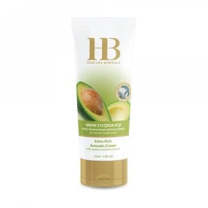 H&B Dead Sea Extra Rich Avocado Cream