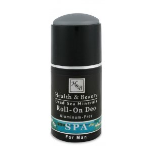 HB Dead Sea Mineral Roll-On Deodorant for Men
