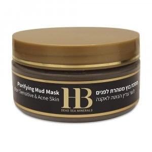 H&B Dead Sea Purifying Mud Mask for Sensitive and Acne Skin