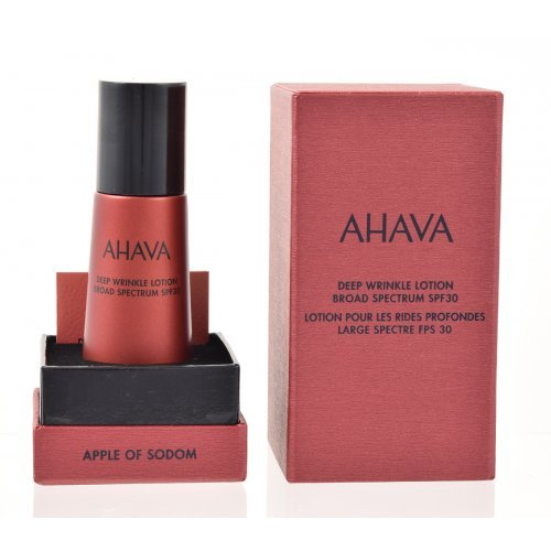 AHAVA APPLE OF SODOM Deep Wrinkle Lotion Broad Spectrum SPF30