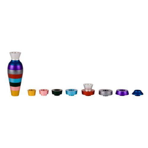 Agayof Compact Assemble Yourself Jug Chanukah Menorah - Colorful
