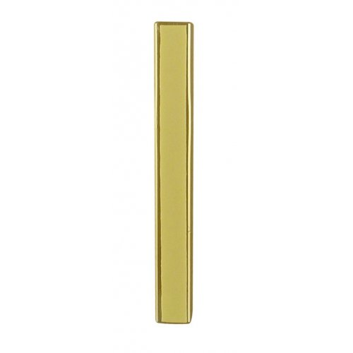 Aluminum Weather-proof Classic Mezuzah Case - Gold