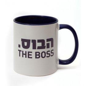Barbara Shaw Boss Mug - Hebrew and English