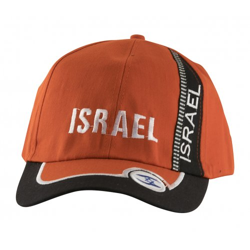 Baseball Cap with Israel and Star of David Design - Choice of Colors