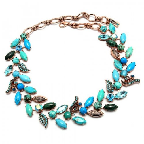 Blue Necklace by Amaro Ocean Collection