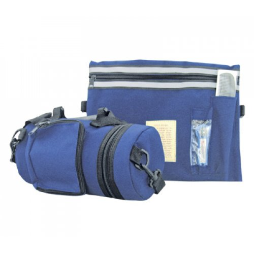 Blue Tefillin Carrier with Tallit bag - Waterproof & Thermal