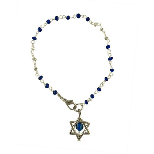 Blue bead Star of David