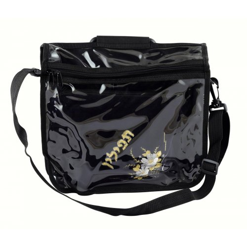 Canvas Transparent Tefillin Carrier