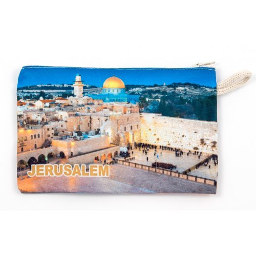 Cloth Purse - Western Wall Design