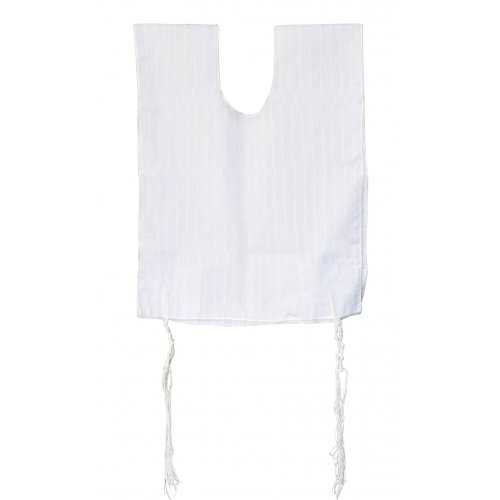 Cotton Tallit Katan with tzitzit