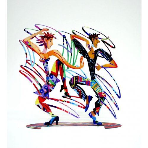 David Gerstein Free Standing Double Sided Sculpture Figures - Twisters