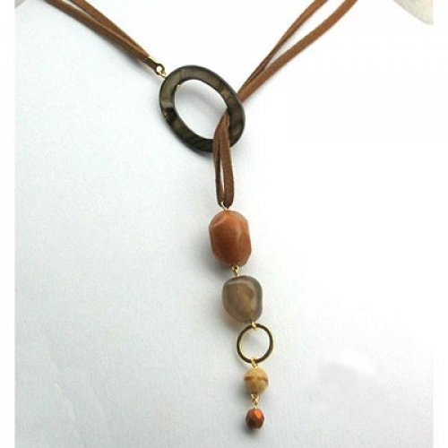 Desert Stream Necklace by Edita