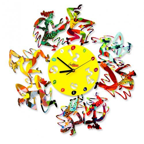 Disco Time Wall Clock by David Gerstein