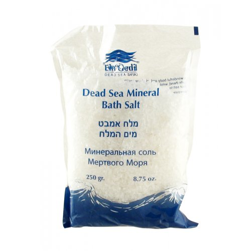 Ein Gedi Dead Sea White Bath Salts - Bergamot & Lemongrass