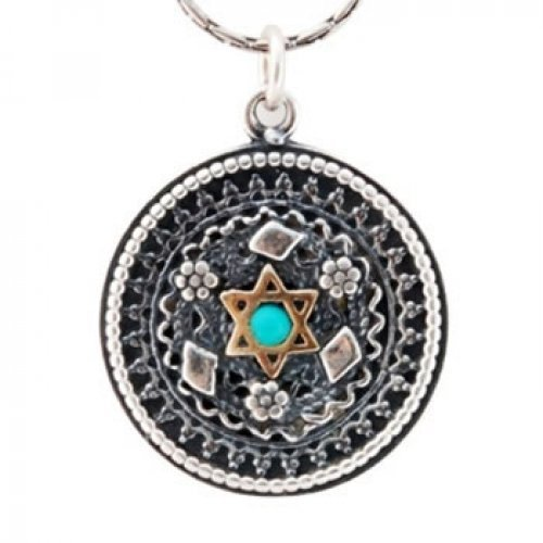 Filigree Star of David Necklace by Golan Studio