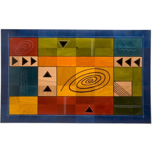 Floor Mat Modernini by Kakadu Art