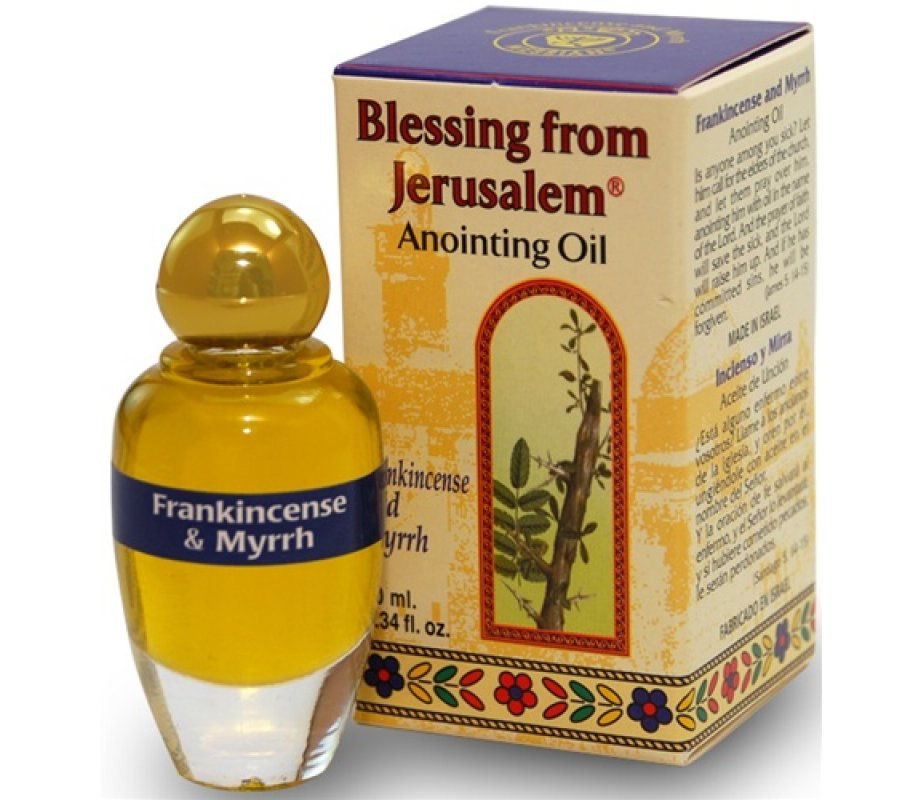 Frankincense and Myrrh Anointing Oil with Biblical Spices (10ml)