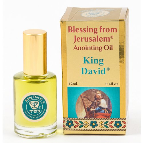 Gold Series Blessing from Jerusalem - King David Anointing Oil 0.4 fl.oz (12ml)