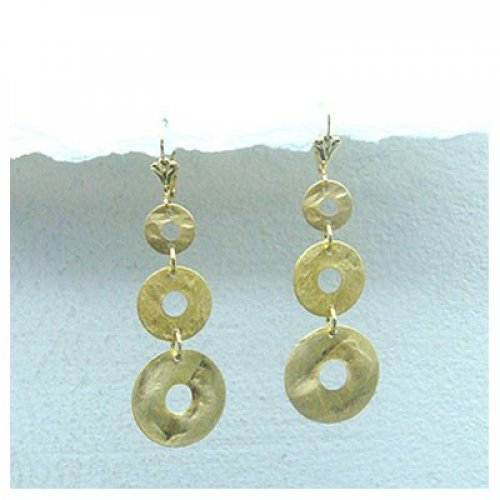 Golden Dawn Earrings by Edita