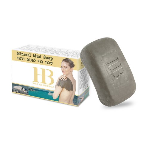 H&B Dead Sea Mud Soap for Face and Body