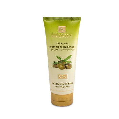 H&B Dead Sea Olive Oil Treatment Hair Mask For Dry and Colored Hair