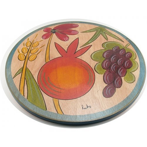 Holy Plants Lazy Susan by Kakadu Art