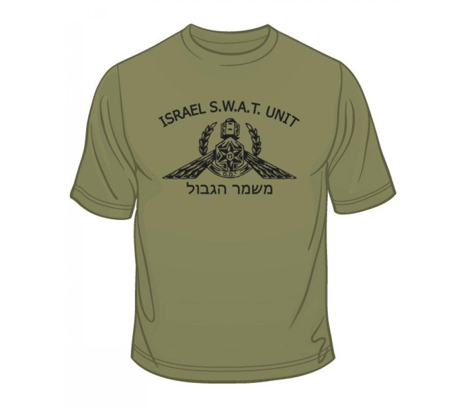 e52cfcea ... police life; idf special forces short sleeve t shirt swat yamam  ajudaica com ...
