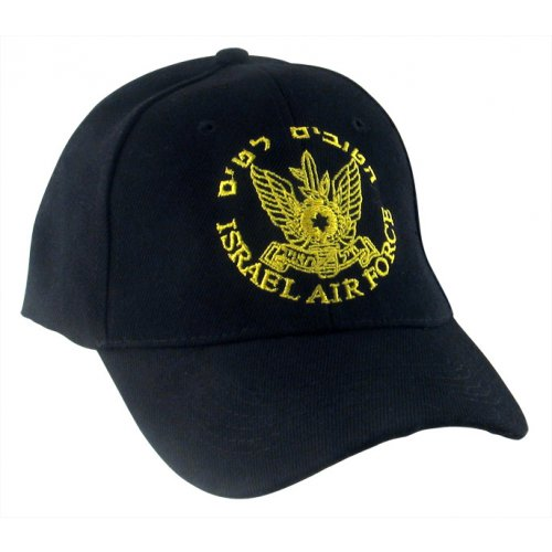 Israeli Air Force Zahal Black Cap