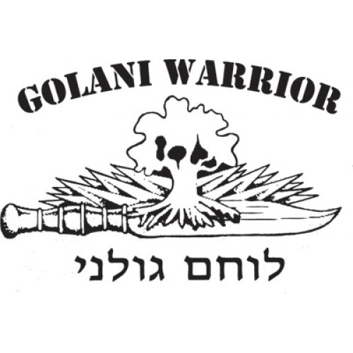 Israeli Army Golani Warrior Unit Long Sleeve T-shirt