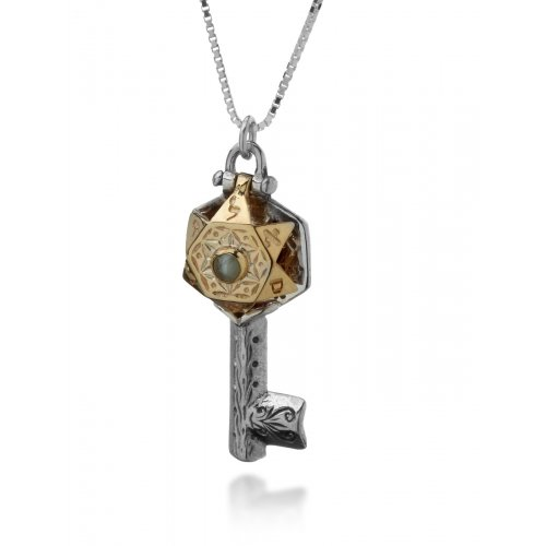 Kabbalah Pendant charm for Prosperity and Success by HaAri Jewelry
