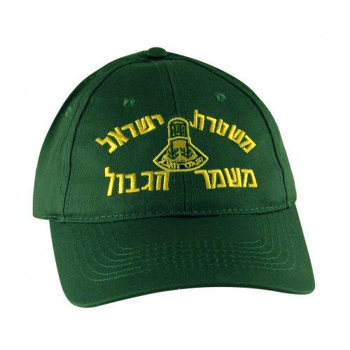 Khaki Green Israel Police Border Patrol Cap  e641b31d121