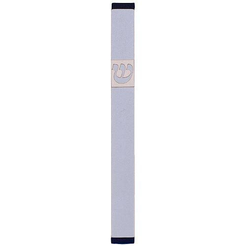 Large Traditional Mezuzah By Agayof- Light Colors