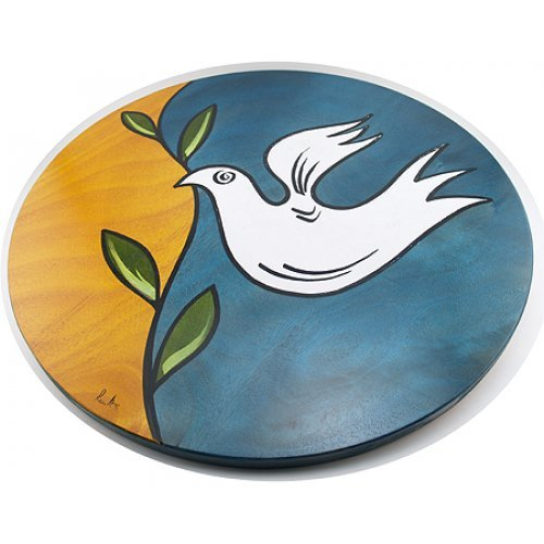 Lazy Susan Dove by Kakadu Art