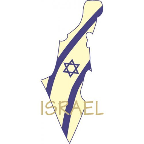 Map of Israel T-Shirt