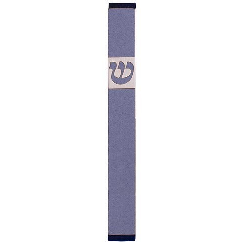Medium Traditional Mezuzah By Agayof- Light Colors