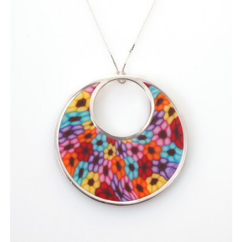 Millefiori Afro Necklace