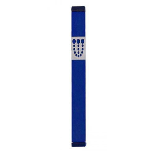 Mini Dots Mezuzah By Agayof - Dark Colors