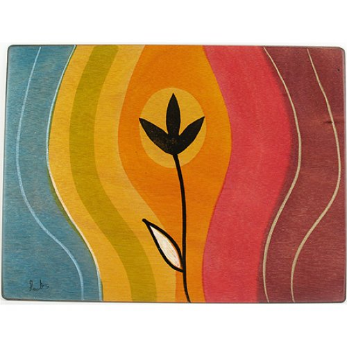 Rectangular Placemat Sunset by Kakadu Art