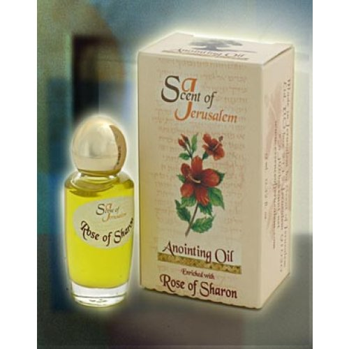 Scent of Jerusalem Anointing Oil Enriched with Rose of Sharon