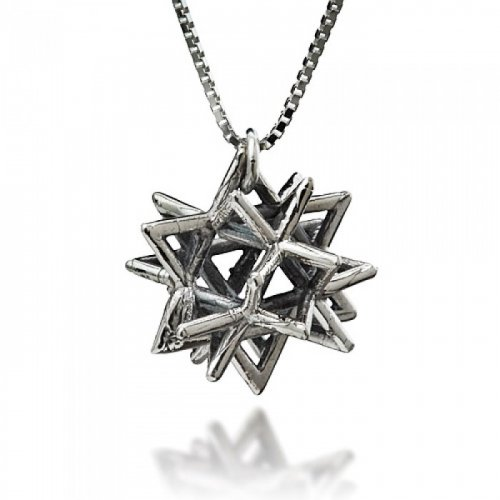 Secret Of Merkabah Pendant - HaAri Kabbalah Jewelry