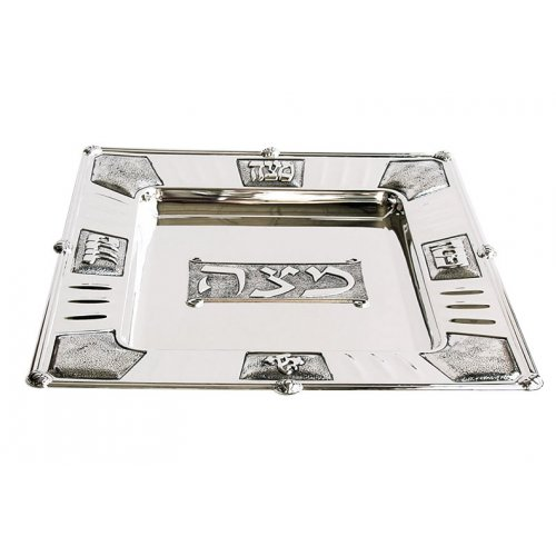 Silver Plated Matzah Tray