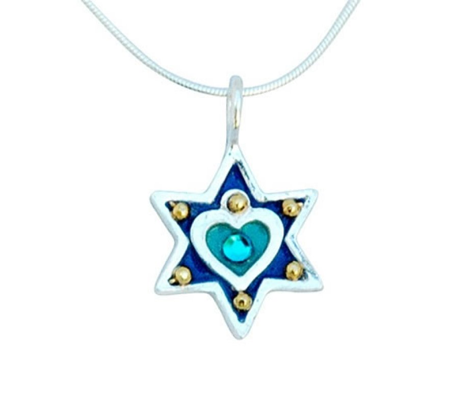 how to make a star of david necklace