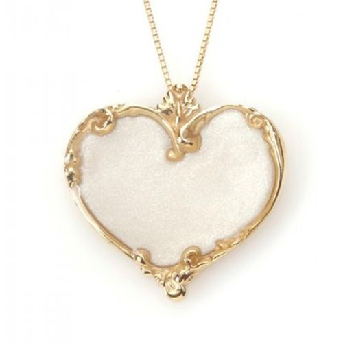 Small Delicate Heart Necklace