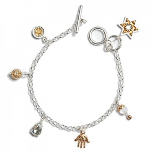 Star of David bracelet -gold
