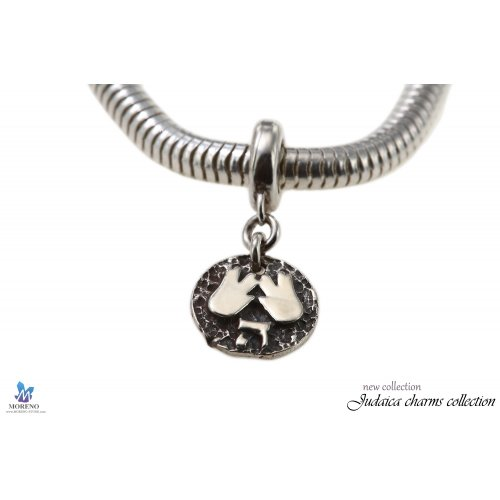 Sterling Silver Kohen's Blessing Charm