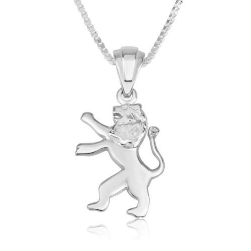 Sterling Silver Lion of Judah Pendant
