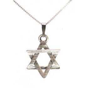 Star of david pendants necklaces ajudaica sterling silver magen david pendant aloadofball Choice Image