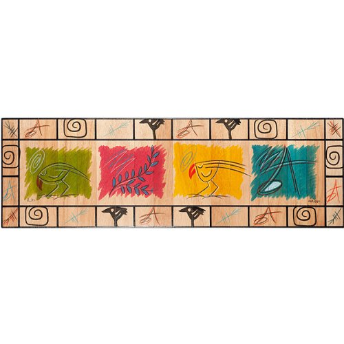 Table Runner Artist's Palette by Kakadu Art